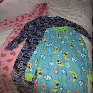 kids onesie pajamas